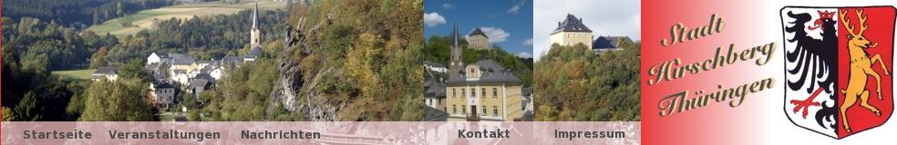 Ihre Stadt Hirschberg in Thüringen